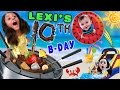 Lexi's 10th Birthday Party! FONDUE POOL CELEBRATION (FUNnel V...