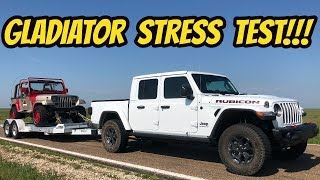 Here's 5 Things I Love About My Jeep Gladiator Rubicon: Towing and Off-Road STRESS TEST!!!