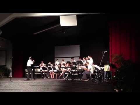 Honolulu Waldorf High School Performing In the Mood (Glenn Miller)