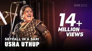 Skyfall - Usha Uthup: Skyfall in a sari