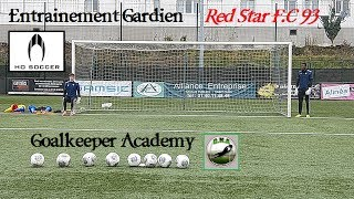 Entrainement Gardien Professionnel Red Star F.C 93