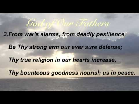Hymnal - God Of Our Fathers