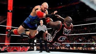 Ryback vs. Mark Henry: Raw, June 22, 2015