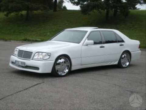 Mercedes Benz S Class Tuning 1984 Vs 1995 Year In