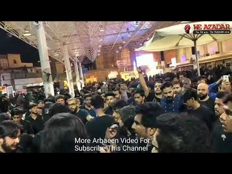 Arbaeen 1440 Safar E Ishq 1440 Nohay Matam Najaf To Karbala 1440 More Video Subscribe This Channel