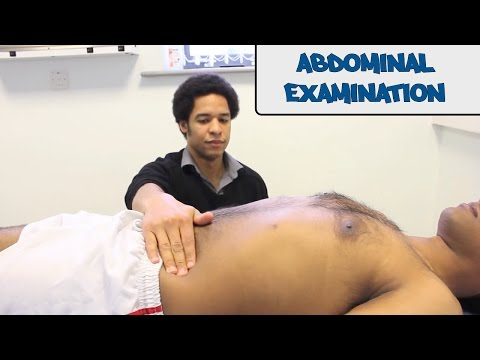 Abdominal Examination - Osce Guide video