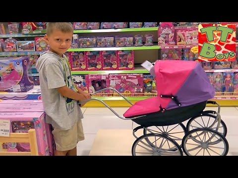 Хелло Китти Шопинг Покупаем игрушку Hello Kitty Видео для детей Shopping in Kids Store
