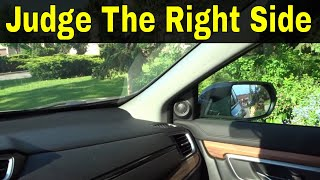 How To Judge The Right Side Of The Car-Driving Lesson