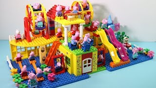 Peppa Pig Lego House Toys For Kids - Lego House With Water Slide Creations Toys #16