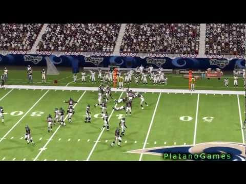 NFL 2012 Wk 4 - Seattle Seahawks (2-1) vs St. Louis Rams (1-2) - 1st Half - Madden '13 - HD