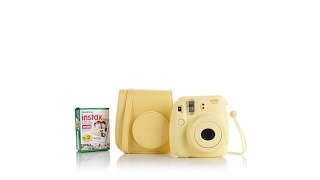 Fujifilm Instax Mini Instant Film Camera w/Groovy Case