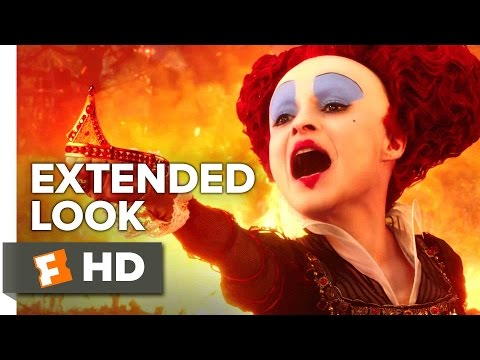 Alice Through the Looking Glass Extended Look (2016) - Helena Bonham Carter Fantasy Movie HD