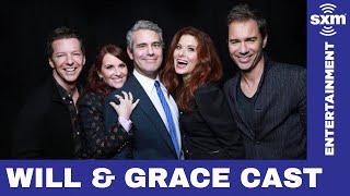 Will & Grace cast credits Trump for their return // Radio Andy // SiriusXM