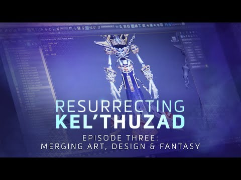 Resurrecting Kel'Thuzad: Merging Art, Design, and Fantasy – Heroes of the Storm