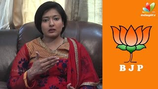 My support will not change even after BJP rejects me – Gayathri Raghuram Interview   Election 2016