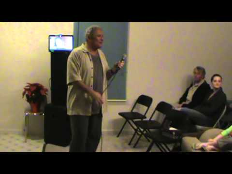 Johnny Contardo Sings those Magic Changes 12 20 2012 At Our 20th! video