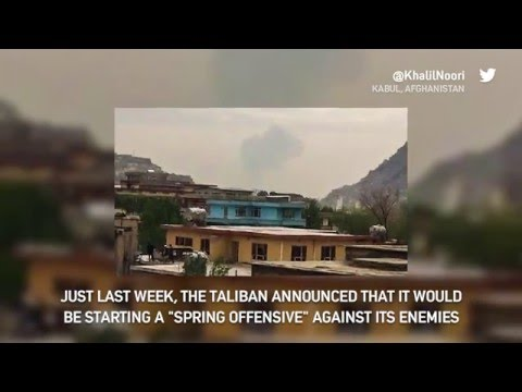 Suicide Bomber Triggers Bomb in Kabul, Afghanistan