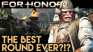 BEST ROUND EVER?!! CRAZY KILLS!! For Honor Gameplay - Multiplayer Dominion (PS4 Pro 1080p 60fps)