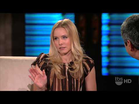 Kristen Bell  Thigh High Boots on Lopez Tonight (HD)