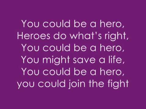 Hero Lyrics - By Superchick