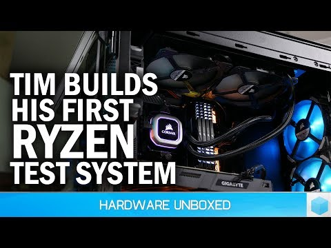 2nd-Gen Ryzen Test System Build feat. Corsair 500D, Aorus X470 Gaming 7