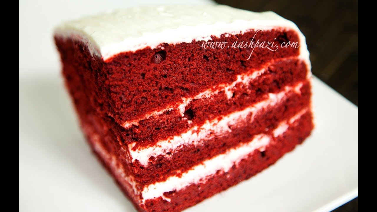 Images Of Red Cake : Velvet Cake (Red Velvet Cake) Recipe - YouTube