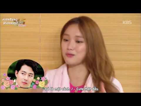 Khi Lee Kwang Soo diễn cảnh hôn :