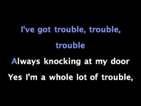 I Got Trouble by Christina Aguilera Karaoke
