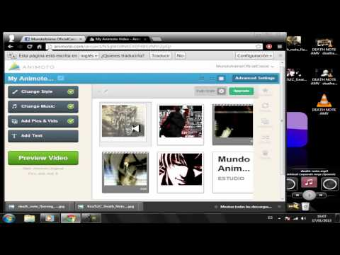 Como Hacer Un Intro en Animoto 2013