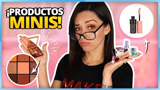 MAQUILLAJE MINIATURA 2: ME MAQUILLO CON MAQUILLAJE CHIQUITO! | TINY MAKEUP CHALLENGE
