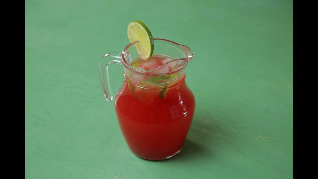 Арбузный лимонад с базиликом рецепт детское меню: напитки 8