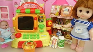 Baby Doll Micro wave and luch box store toys play