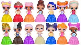 LOL Surprise Dolls Dress Up Fake Vs Real