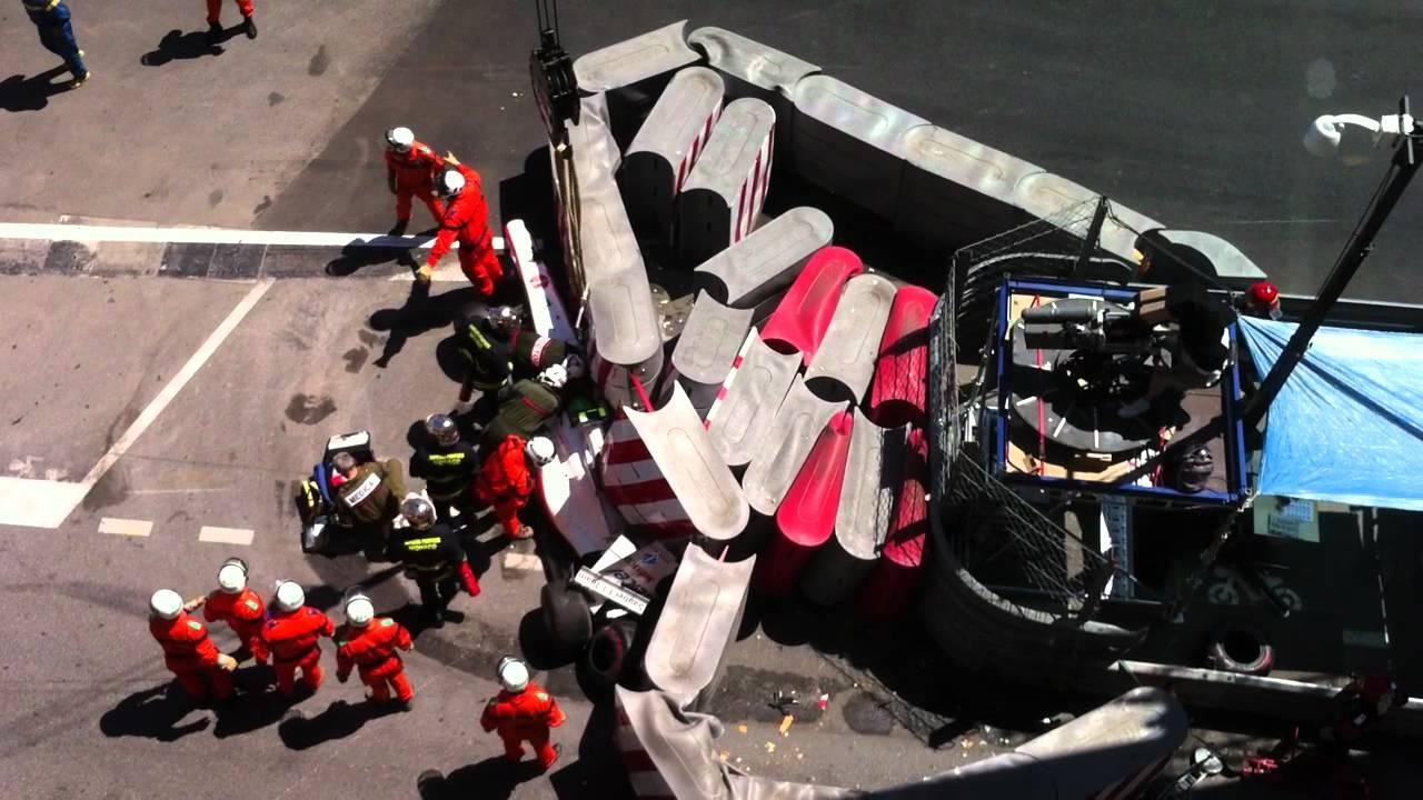 Shock After Car Crash