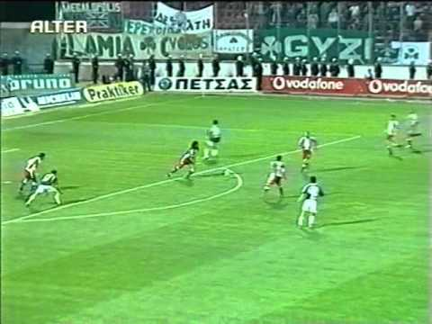 PANATHINAIKOS-olympiakos (2003-04) KYPELLO 3-1