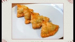 Vegetable Samosa Video (Odia Style) - PriyasRasoi.com