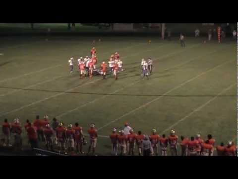 '13 Darius Strickland Senior Football Highlights