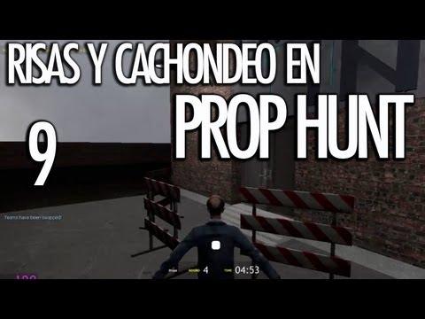 PROP HUNT 9: Risas y Cachondeo! LA VALLA!!! - [LuzuGames]