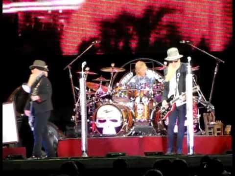 ZZ Top Live SunFest 2010  Song 18 - Viva Las Vegas.mpg