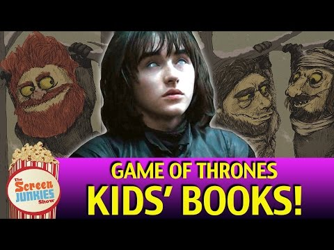 Game of Thrones Kids' Books with Bran Stark!