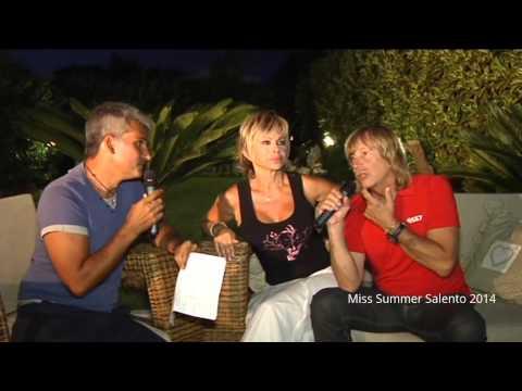 Miss Summer Salento 2014. Intervista a Carmen Russo  e Enzo Paolo Turchi