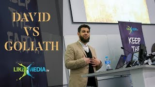 Video: David vs Goliath story in Islam - Hasib Noor