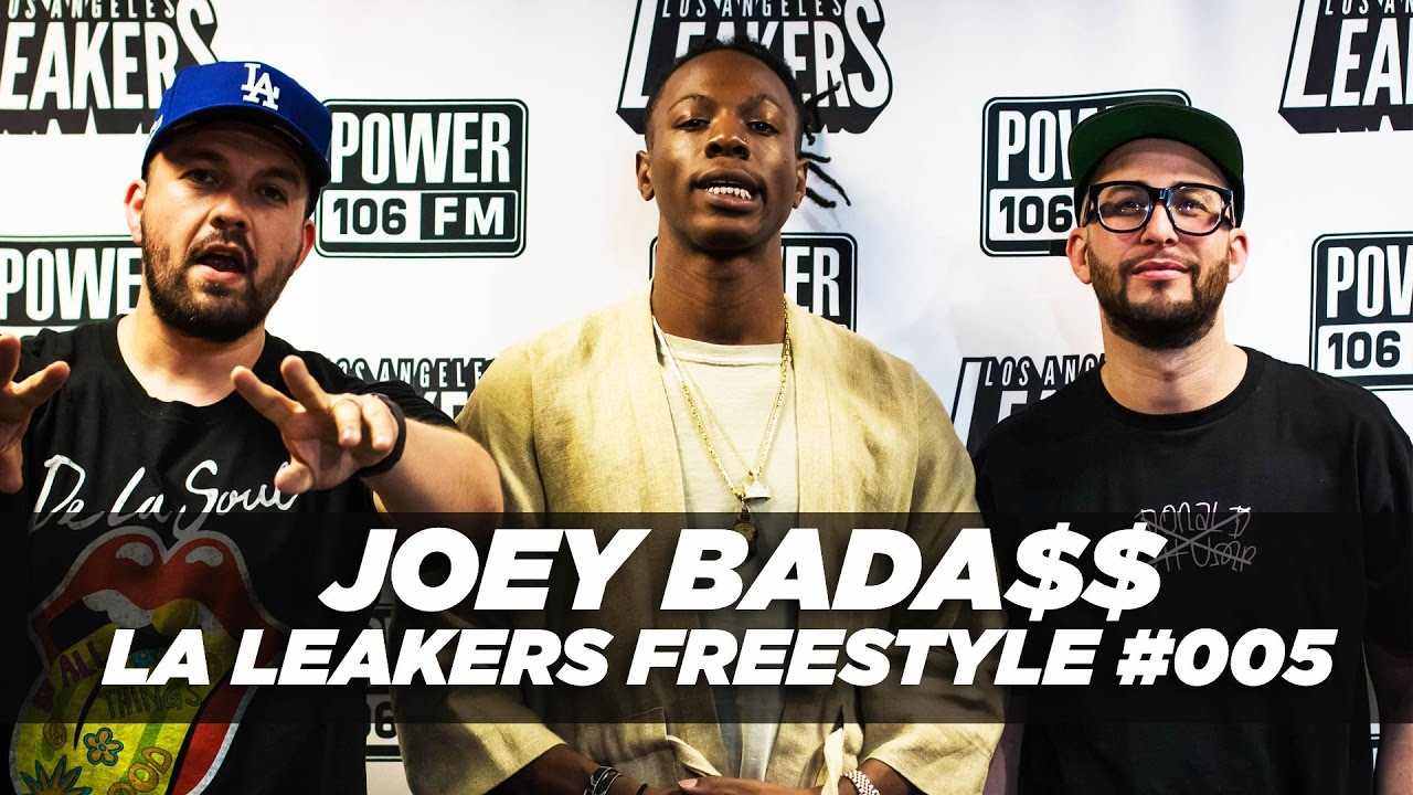 "Killed It: Joey Bada$$ Freestyles Over Future's ""Mask Off"" With The LA Leakers!"