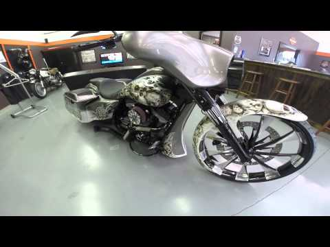 HARLEY DAVIDSON CUSTOM ELECTRA GLIDE built by The Bike Exchange - FOR SALE