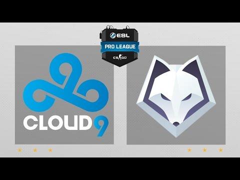 CS:GO - Cloud9 vs. Winterfox [Overpass] Map 2 - ESL Pro League Season 5 - NA Matchday 5
