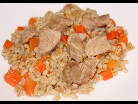 Перловка каша с мясом в мультиварке редмонд м70 рецепты с фото