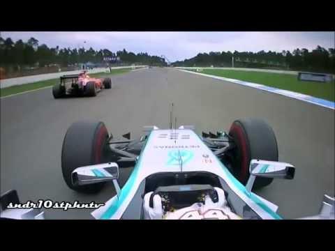 Lewis Hamilton - Top 10 Overtakes 2014