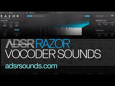 how to use razor vocoder