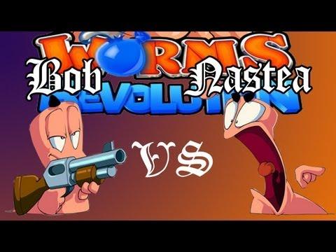 BobPlay: Дуэль в игре Worms Revolution!