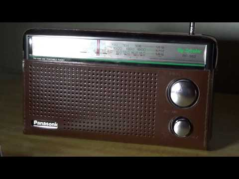 China Radio International 6020 Khz on Panasonic with telescopic antenna